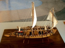 Mantua's Swedish Gunboat by Walter Hlavecek of San Jose, CA