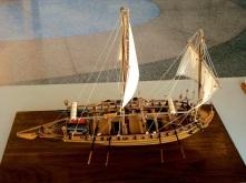 Mantua's Swedish Gunboat by Walter Hlavecek of San Jose, CA
