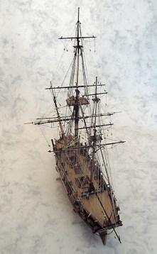 Caldercraft's Bomb Vessel Granado, built by Ron Neilson.