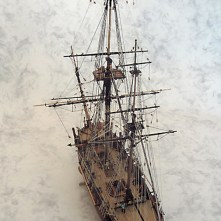 Caldercraft's Bomb Vessel Granado, built by Ron Neilson.