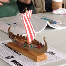 Mini-Oseberg, a Billing Boats kit built by Dan Canada of San Francisco, CA