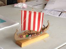 Mini-Oseberg, a Billing Boats kit built by Dan Canada of San Francisco, CA