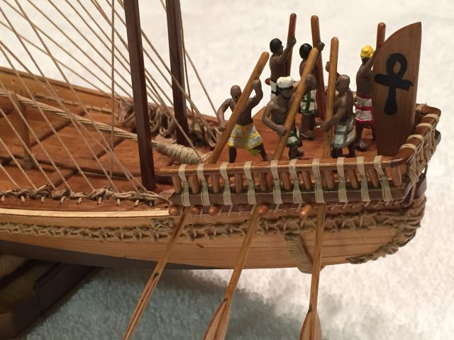 Amati's Nave Egizia built by Dan Drum of Auburn, WI