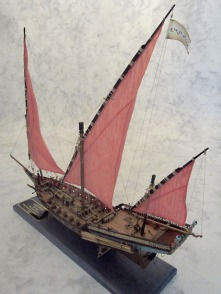 Amati Xebec built by Ron Neilson