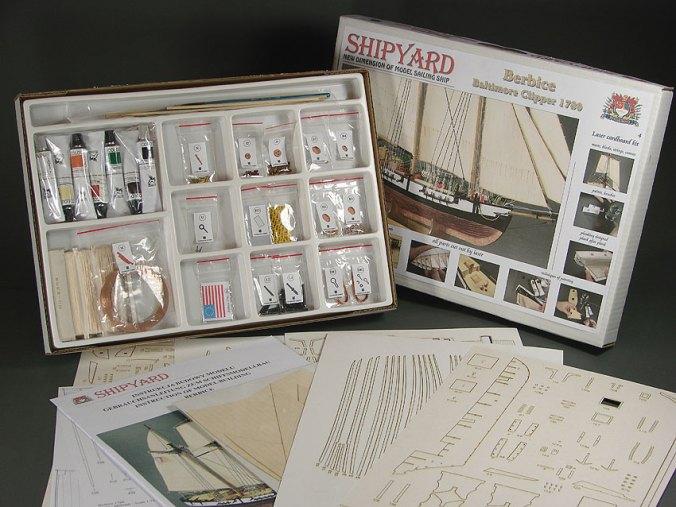 Shipyard Paper Kits | Ages of Sail