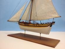 Shipyard's HMS Alert (Paper Model) by Clare Hess of Pleasant Hill, CA