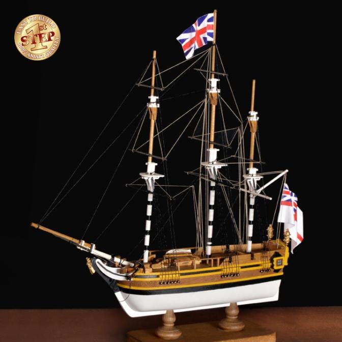 HMS Bounty 1st Step Kit from Amati
