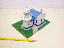 Crowdy Head Lighthouse Paper Model