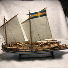 Amati's Swedish Gunboat by Kent Dutrieux of Richmond, CA.