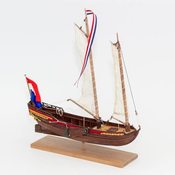 Kolderstok's Speel-Yaght wooden model ship kit