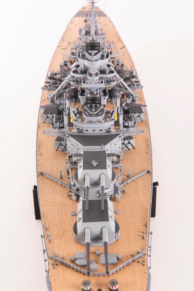 German Battleship Bismark by Amati Model
